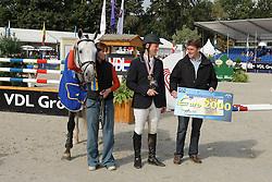 Brondeel Donaat - Breemeersen  Adorado<br /> <br /> World Championship Young Horses Lanaken 2008<br /> <br /> Photo Copyright Hippo Foto