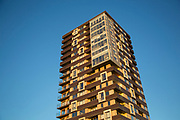High rise tower block in Shadwell in East London, England, United Kingdom.