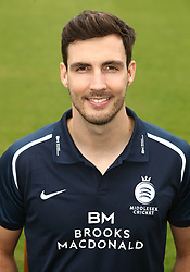 Middlesex's Steven Finn during the media day at Lord's Cricket Ground, London.
