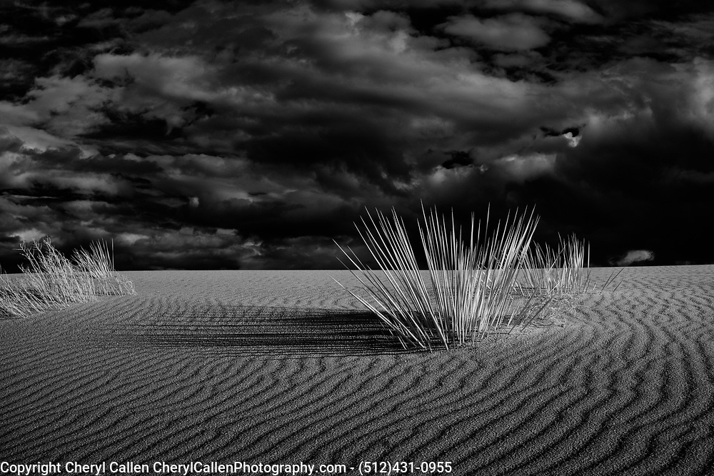 White Sands National Monument in Infrared