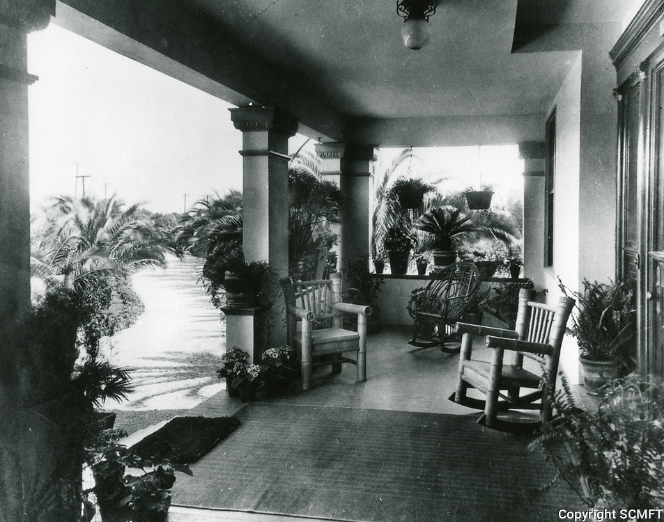 1912 Jacob Stern's home at Hollywood and Vine. St.