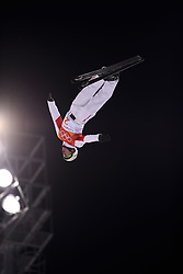 PYEONGCHANG, Feb. 18, 2018  Jia Zongyang of China competes during men's areials final of freestyle skiing at the 2018 PyeongChang Winter Olympic Games at Phoenix Snow Park, PyeongChang, South Korea, Feb. 18, 2018. Jia Zongyang claimed second place with 128.05 points. (Credit Image: © Wu Zhuang/Xinhua via ZUMA Wire)