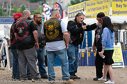 Laconia Roadhouse during Laconia Motorcycle Week. NH. USA. Wednesday June 13, 2018. Photography ©2018 Michael Lichter.