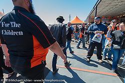 """3rd Annual Crusaders for the Children """"Child Empowerment Ride"""" with Sons of Anarchy during Arizona Bike Week 2014. USA. April 6, 2014.  Photography ©2014 Michael Lichter."""