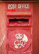 British colonial post box in Galle, Sri Lanka