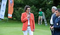 HILVERSUM - Caroline Huyskes , president NGF.     ELTK Golf 2020 The Dutch Golf Federation (NGF), The European Golf Federation (EGA) and the Hilversumsche Golf Club will organize Team European Championships for men.  COPYRIGHT KOEN SUYK