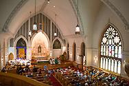 Svenska evangeliska lutherska Ebenezer kyrkan Andersonville firar 125 år.<br /> <br /> Chicago, Illinois, USA<br /> <br /> Foto: Christina Sjögren