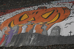 October 28, 2017 - Milan, Italy - The public during Serie A match between Milan v Juventus, in Milan, on October 28, 2017  (Credit Image: © Loris Roselli/NurPhoto via ZUMA Press)