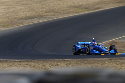 September 14, 2018 - Sonoma, California, United Stated - ED JONES (10) of the United Arab Emirates takes to the track to practice for the Indycar Grand Prix of Sonoma at Sonoma Raceway in Sonoma, California. (Credit Image: © Justin R. Noe Asp Inc/ASP via ZUMA Wire)