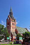 Ełk, 2008-07-12. Kościół Najświętszego Serca Pana Jezusa (poewangelicki) z XIX wieku