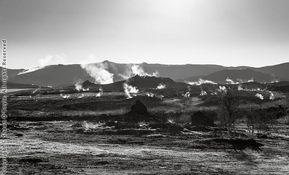 Myvatn geothermal area, North Iceland