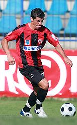 Nezbedin Selimi (11) of Primorje at 6th Round of PrvaLiga Telekom Slovenije between NK Primorje Ajdovscina vs NK Rudar Velenje, on August 24, 2008, in Town stadium in Ajdovscina. Primorje won the match 3:1. (Photo by Vid Ponikvar / Sportal Images)