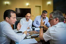 Porto Alegre, RS - 06/03/2020: Reunião com o Secretário Rodrigo Tortoriello. Foto: Jefferson Bernardes/PMPA