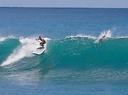 Stand up surfing, Waikiki, honolulu, Hawaii