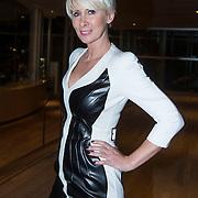 NLD/Amsterdam/20140311 - Modeshow Addy van den Krommenacker 2014, Monique des Bouvrie