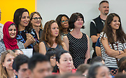 Dedication ceremony of the new Michael E. DeBakey High School for Health Professions, June 1, 2017.