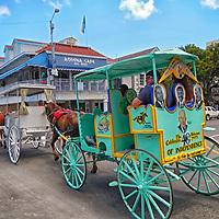 DOWNTOWN NASSAU - TRAVEL STOCK PHOTOS OF THE BAHAMAS