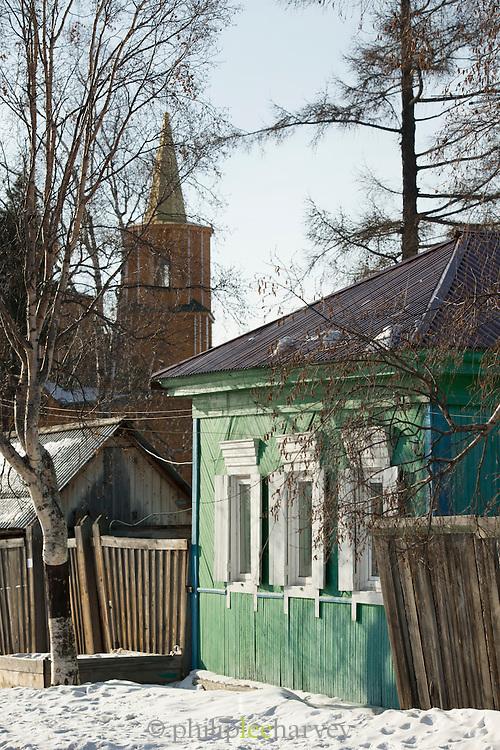 Listvyanka, Port Baykal on the shores of Lake Baikal, Siberia, Russia