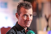 Thomas Voeckler (Direct Energie), defending champion for the third Tour de Yorkshire during the Tour de Yorkshire Press Conference at the National Railway Museum, York, United Kingdom on 27 April 2017. Photo by Mark P Doherty.