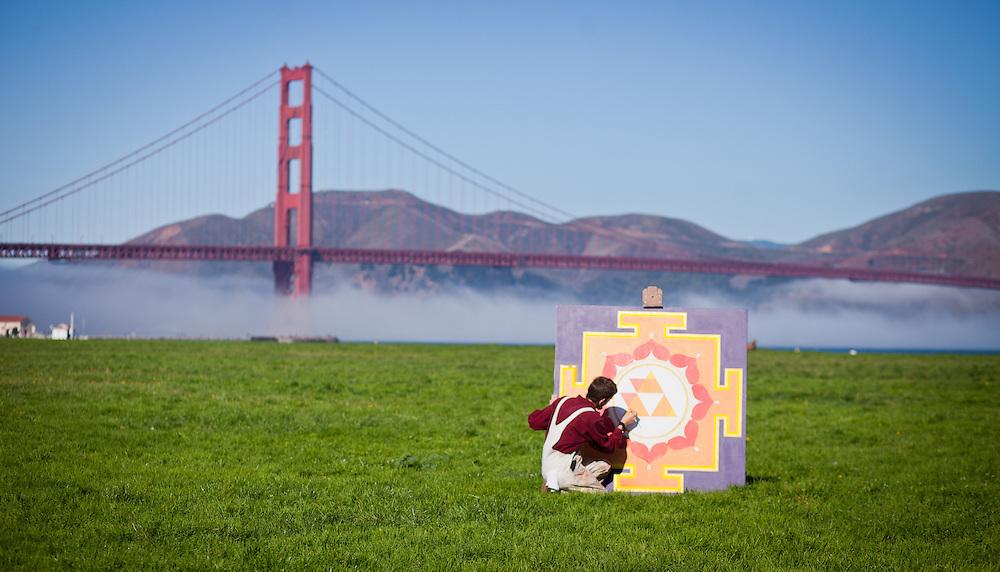 Ekabhumi Ellik at Crissy Fields, San Francisco