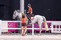 Johner Mélody, SUI, Toubleu de Rueire, 267<br /> Olympic Games Tokyo 2021<br /> © Hippo Foto - Dirk Caremans<br /> 26/07/2021no