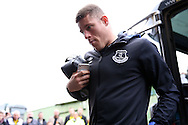 Ross Barkley of Everton arrives at Vicarage Road Stadium via the team coach. Premier league match, Watford v Everton at Vicarage Road in Watford, London on Saturday 10th December 2016.<br /> pic by John Patrick Fletcher, Andrew Orchard sports photography.