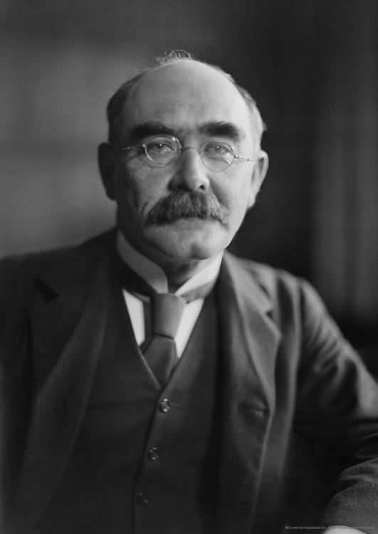 Rudyard Kipling, English Author, 1912