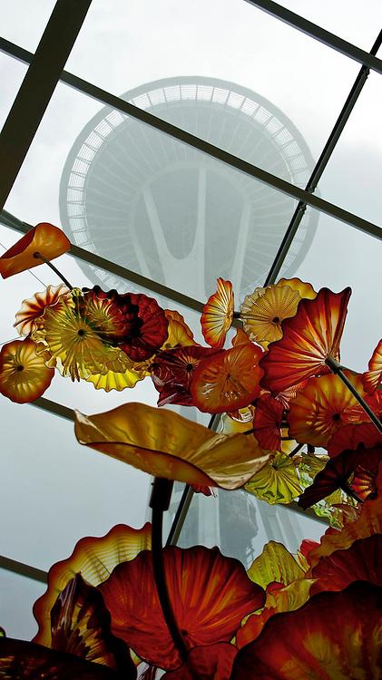 Space Needle & Chihuly Glass, Seattle WA