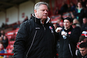 John Yems before the EFL Sky Bet League 2 match between Walsall and Crawley Town at the Banks's Stadium, Walsall, England on 18 January 2020.