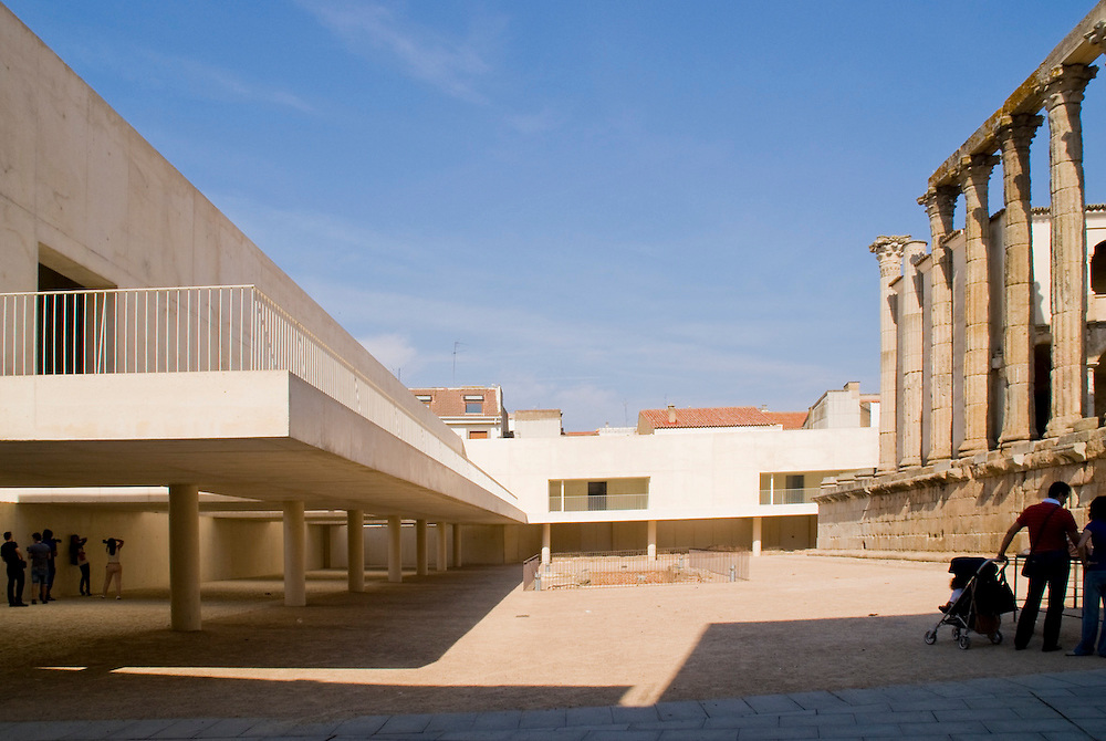 Templo Diana. Merida. Jose Mª Sanchez Garcia Architect