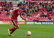 Stewart Downing (Middlesbrough FC) during the Sky Bet Championship match between Middlesbrough and Milton Keynes Dons at the Riverside Stadium, Middlesbrough, England on 12 September 2015. Photo by George Ledger.