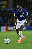 Yannick Bolasie of Everton in action. Premier league match, Everton v Crystal Palace at Goodison Park in Liverpool, Merseyside on Friday 30th September 2016.<br /> pic by Chris Stading, Andrew Orchard sports photography.