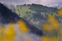 Mountains around Malbun, Liechtenstein