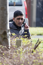 © Licensed to London News Pictures . 03/03/2015 . Bury , UK . SHAYFUR RAHMAN pictured arriving . Iklaq Choudhry Hussain (37), Shayfur Rahman (31), Mohammed Davood (37), Rehan Ali (26) and Kutab Miah (34) are amongst ten men charged in relation to the investigation of child sexual exploitation in Rochdale appearing before Bury Magistrates' Court today (Tuesday 3rd March 2015) . Photo credit : Joel Goodman/LNP