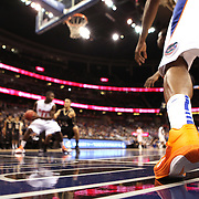 General floor action as the University of Central Florida takes on the Florida Gators at the Amway Center on December 1, 2010 in Orlando, Florida. Central Florida won the game 57-54 for their first ever victory against a nationally ranked team. (AP Photo/Alex Menendez)
