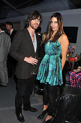 JACKSON SCOTT and ZARA SIMON at the Vogue Festival 2012 in association with Vertu held at the Royal Geographical Society, London on 20th April 2012.