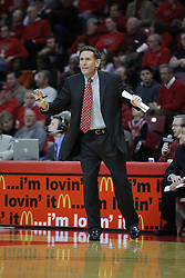 01 December 2010: Rob Judson during an NCAA basketball game between the University of Nevada Las Vegas Runnin' Rebels and the Illinois State Redbirds at Redbird Arena in Normal Illinois.