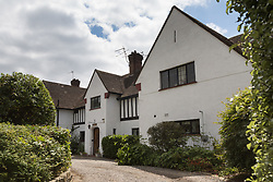 Tudor House in Pinner, North West London, where two property owner, Hugh Clement Sorrel, 76 from No3 and former Harley Street GP Dr Jayshree Pillay from No 1 have been involved in a long-running dispute that ended up in court, where Sorrell was cleared of harassing Pillay on Friday July 12th. London, July 15 2019.