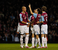 Photo: Leigh Quinnell.<br /> West Ham United v Fulham. The Barclays Premiership. 13/01/2007. Yossi Benayoun celebrates his goal after half time.