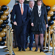 NLD/Hilversum/20110208 - Prins Willem Alexander aanwezig bij de Gouden Apenstaarten 2011, Z.K.H. Prins Willem Alexander