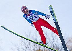 05.02.2011, Heini Klopfer Skiflugschanze, Oberstdorf, GER, FIS World Cup, Ski Jumping, Probedurchgang, im Bild Martin Koch (AUT) , during ski jump at the ski jumping world cup Trail round in Oberstdorf, Germany on 05/02/2011, EXPA Pictures © 2011, PhotoCredit: EXPA/ P. Rinderer