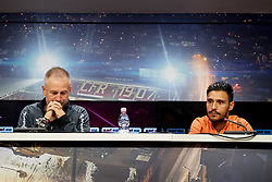 July 23, 2018 - Cluj, Romania - 180723 Head coach Edward Iordanescu and Camora of Cluj during a press conference and practice ahead the UEFA Champions League qualifying match between Cluj and MalmÅ¡ FF on July 23, 2018 in Cluj..Photo: Ludvig Thunman / BILDBYRN / kod LT / 35509 (Credit Image: © Ludvig Thunman/Bildbyran via ZUMA Press)