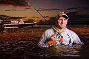 John Meskauskas photographed in the Indian River Lagoon