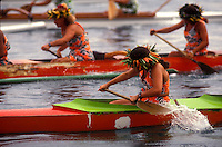 French Polynesia, Islands in the South Pacific, part of the French overseas Territories.Photo by Owen FrankenFrench Polynesia, Islands in the South Pacific, part of the French overseas Territories.Traditional canoe race in the water between Tahiti and Moorea...Photo by Owen Franken