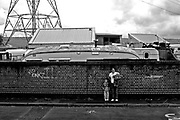 Hilda, an English Traveller from the Clays Lane site in Newham, north London, where some English Travellers live. They are under threat to be evicted as the futur olymoic village (2012) is supposed to be at this place.