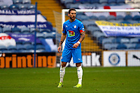 Liam Hogan. Stockport County FC 3-2 Yeovil Town FC. Emirates FA Cup Second Round. Edgeley Park. 29.11.20