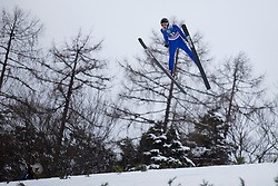 David Grm during testing jumps at Ski jumping Flying Hill One day before FIS World Cup Ski Jumping Final Planica 2018, on March 21, 2018 in Ratece, Planica, Slovenia. Photo by Urban Urbanc / Sportida
