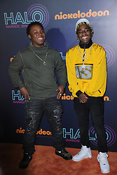 November 11, 2016 - New York, NY, USA - November 11, 2016  New York City..Zay Hilfigerrr, Zayion McCall attending the 2016 Nickelodeon HALO awards at Basketball City Pier 36  South Street on November 11, 2016 in New York City. (Credit Image: © Callahan/Ace Pictures via ZUMA Press)