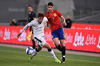 Federico Chieda Italia, Marco Asensio Spagna <br /> Roma 27-02-2017, Stadio Olimpico<br /> Football Friendly Match  <br /> Italy - Spain Under 21 Foto Andrea Staccioli Insidefoto