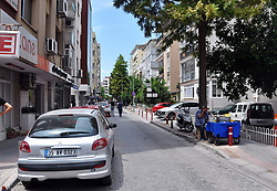 July 27, 2018 - Izmir, Turkey - Turkish police secure the street and apartment of Andrew Craig Brunson, at Alsancak district of Izmir city, 27th June, 2018. Andrew Craig Brunson, an evangelical pastor from Black Mountain, North Carolina, who had been jailed in Turkey for more than one and a half years on terror and espionage charges was released Wednesday and will be put under house arrest because of ''health problems,'' as his trial continues. (Credit Image: © Depo Photos via ZUMA Wire)